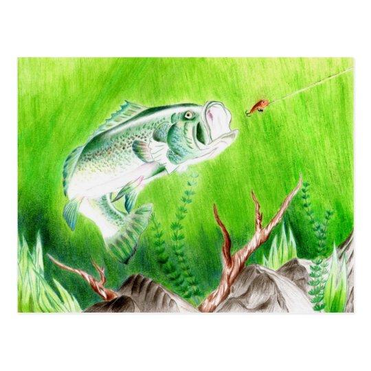 Winning artwork by T. Perkins, Grade 7 Postcard