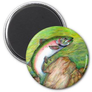 Winning artwork by T. Schuh, Grade 9 2 Inch Round Magnet