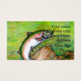Winning artwork by T. Schuh, Grade 9 Business Card