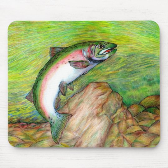 Winning artwork by T. Schuh, Grade 9 Mouse Pad