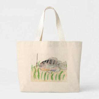 Winning artwork by T. Tellinghuisen, Grade 5 Large Tote Bag