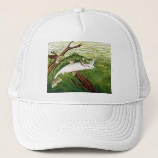 Winning artwork by U. Roy, Grade 6 Trucker Hat