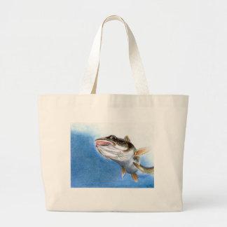 Winning artwork by V. Gindele, Grade 12 Large Tote Bag