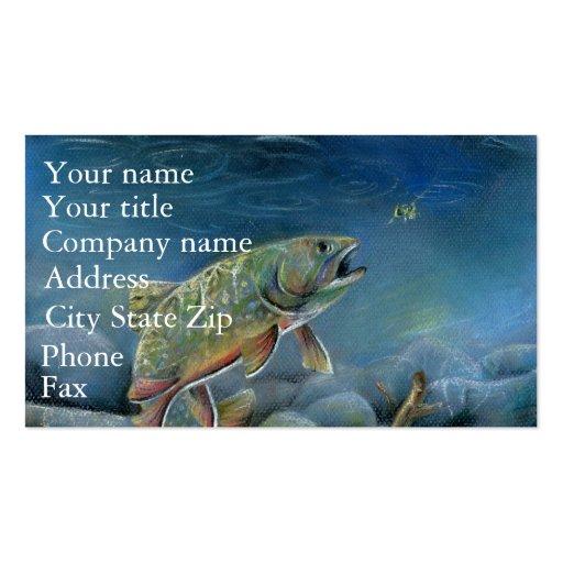 Winning artwork by Y. Pozynich, Grade 12 Business Card Template