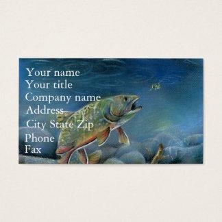 Winning artwork by Y. Pozynich, Grade 12 Business Card