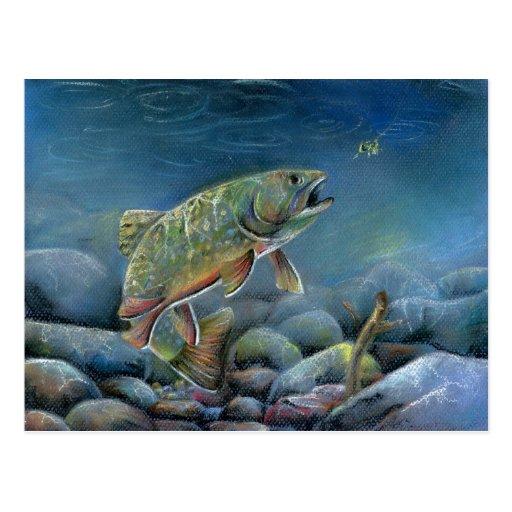 Winning artwork by Y. Pozynich, Grade 12 Postcard