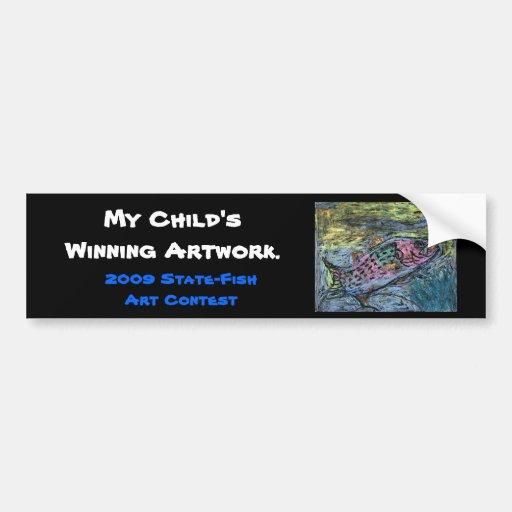 Winning artwork by Y. Seo, Grade 10 Bumper Sticker