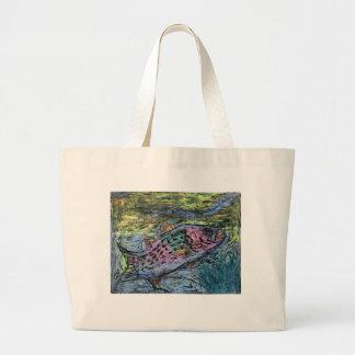 Winning artwork by Y. Seo, Grade 10 Large Tote Bag