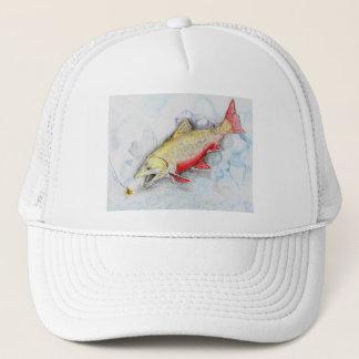 Winning artwork by Z. Xie, Grade 11 Trucker Hat