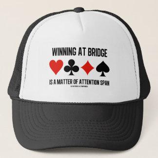 Winning At Bridge Is A Matter Of Attention Span Trucker Hat