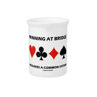 Winning At Bridge Requires A Common System Pitchers