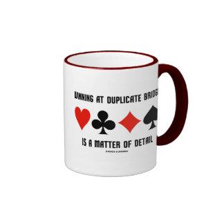 Winning At Duplicate Bridge Is A Matter Of Detail Ringer Coffee Mug