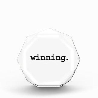 winning. award