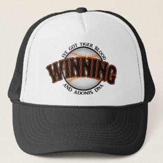 Winning Baseball Tiger Blood Trucker Hat