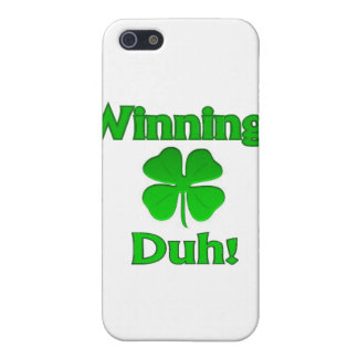 Winning Charlie Sheen St. Patrick's Day iPhone SE/5/5s Cover