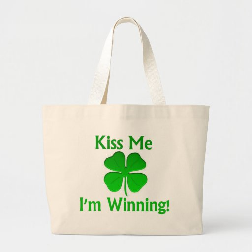 Winning Charlie Sheen St. Patrick's Day Tote Bag