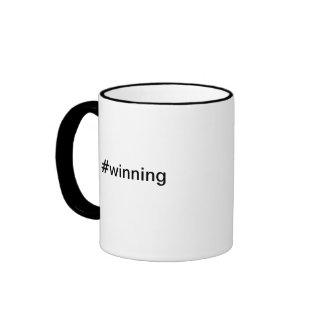#winning Charlie Sheen Twitter Hashtag mug