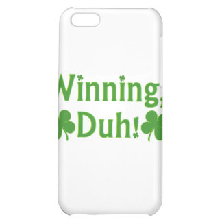 Winning Duh Charlie Sheen iPhone Case Case For iPhone 5C