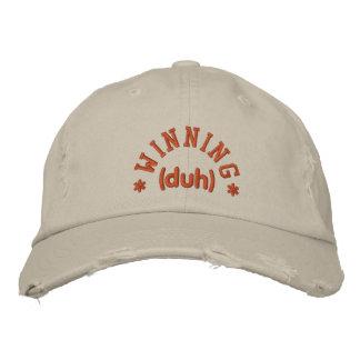 Winning DUH Embroidered Baseball Caps
