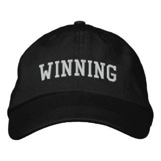WINNING EMBROIDERED BASEBALL CAP