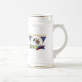 Winning Hand 21st Birthday Gifts 18 Oz Beer Stein