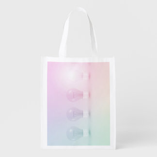 Winning Idea or Business as a Concept Grocery Bag