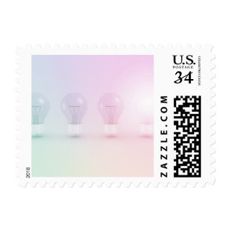 Winning Idea or Business as a Concept Postage