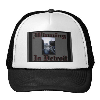 Winning in Detroit Hats