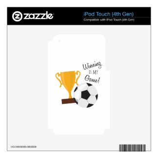 Winning Is My Game! Skins For iPod Touch 4G