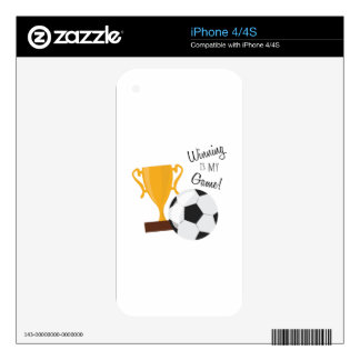 Winning Is My Game! Skins For iPhone 4S