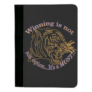 Winning is not an option, it's a must padfolio