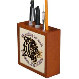 Winning is not an option, it's a must Pencil/Pen holder