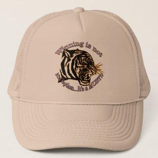 Winning is not an option, it's a must trucker hat