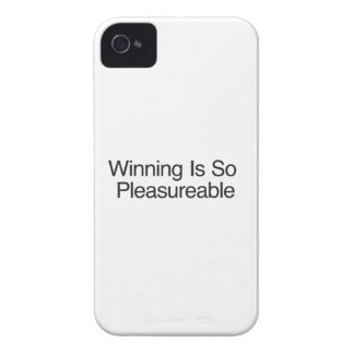 Winning Is So Pleasureable iPhone 4 Cover