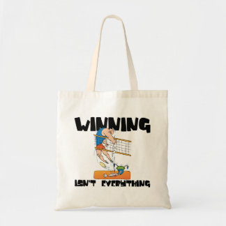 Winning Isn t Everything Volleyball Gift Canvas Bags
