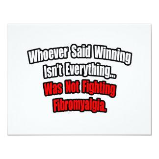 Winning Isn't Everything Quote, Fibromyalgia Card