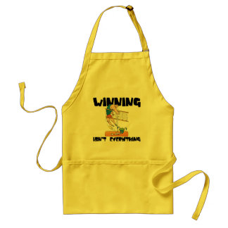 Winning Isn't Everything Volleyball Gift Adult Apron