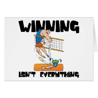 Winning Isn't Everything Volleyball Gift Card
