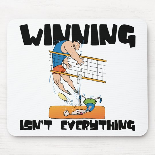 Winning Isn't Everything Volleyball Gift Mouse Pad