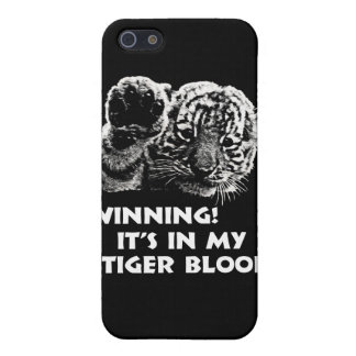 Winning!  It's In My Tiger Blood! iPhone 5 Cover