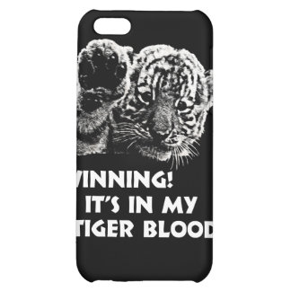 Winning!  It's In My Tiger Blood! iPhone 5C Cases