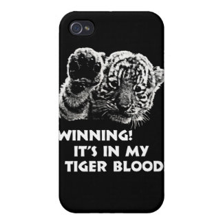 Winning!  It's In My Tiger Blood! iPhone 4/4S Cover
