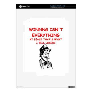 winning joke skin for iPad 2