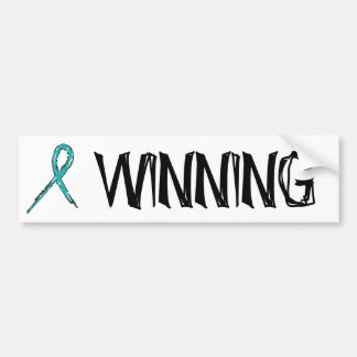 Winning - Ovarian Cancer - Sheen Car Bumper Sticker