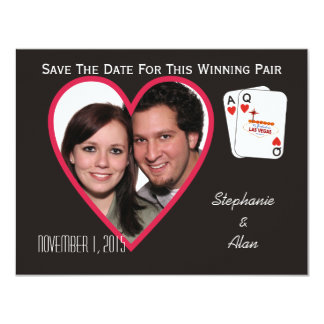 Winning Pair Save The Date Card