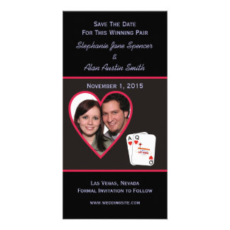 Winning Pair Save The Date Photo Cards