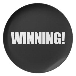 WINNING Plate