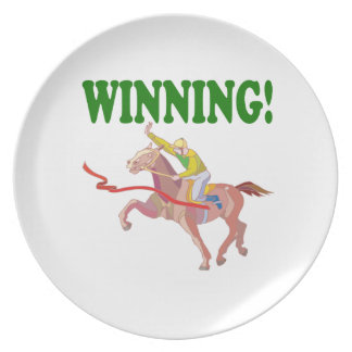 Winning Party Plate