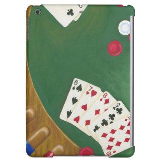Winning Poker Hand Six Through Ten Case For iPad Air