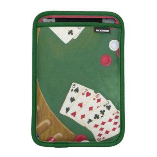 Winning Poker Hand Six Through Ten iPad Mini Sleeves